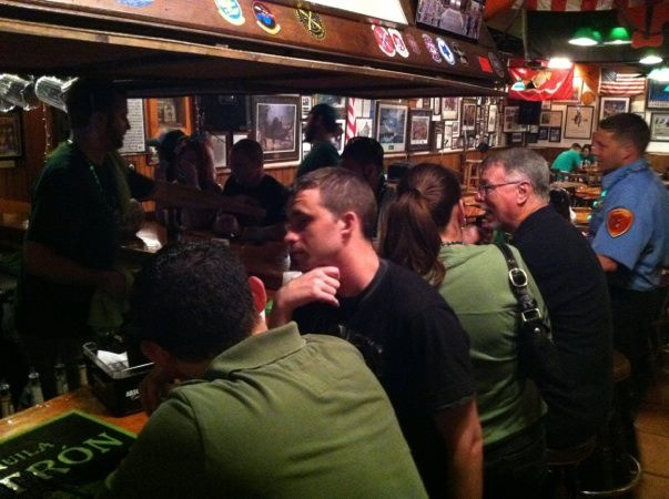 Upstairs Bar St Paddy's
