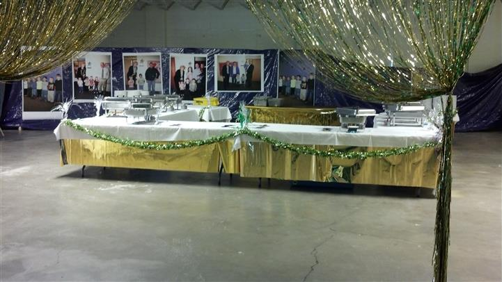 catering dining room with pictures
