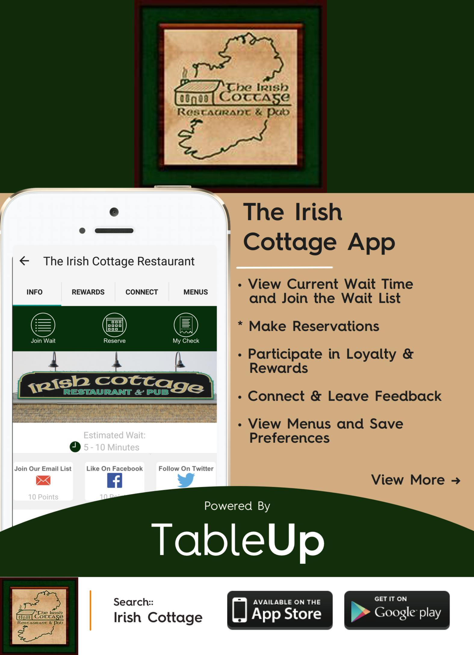The irish cottage app