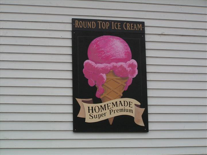 Homemade Icecream Sign