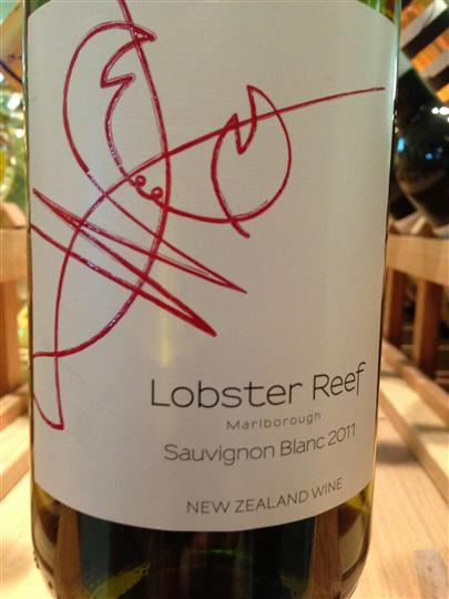 Lobster Reef Wine Label