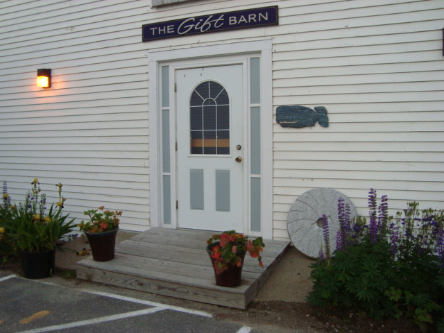 The Gift Barn Entrance