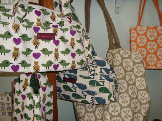 Bags with birds and wales on them for sale