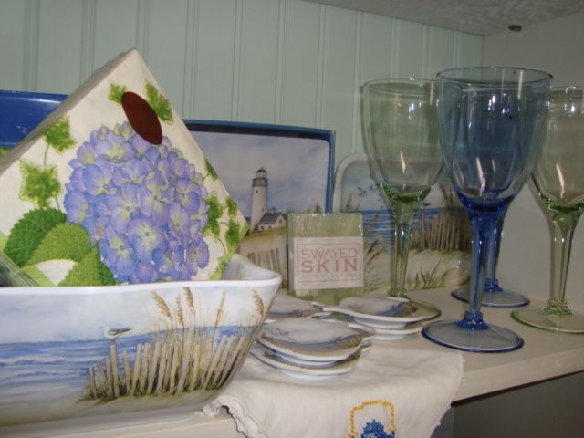 Wine Glasses and Dishes for Sale