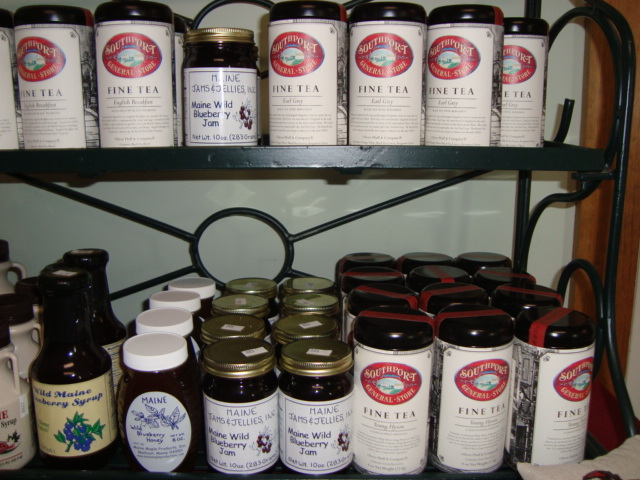 Assortment of Tea and Jam for sale