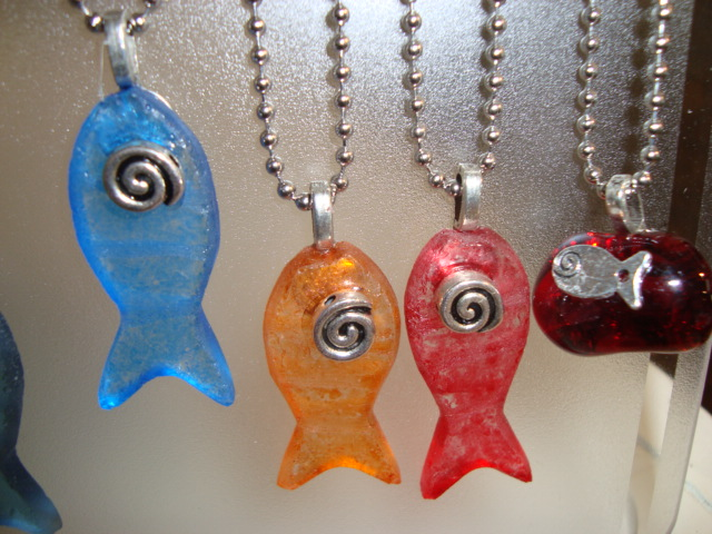 Colorful Fish Key Chains