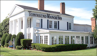 Townsend Manor Inn sign