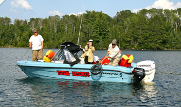 Fishing Vacation in Lake of the Woods