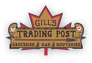 Gill's Trading Post | groceries | Gas | souvenirs