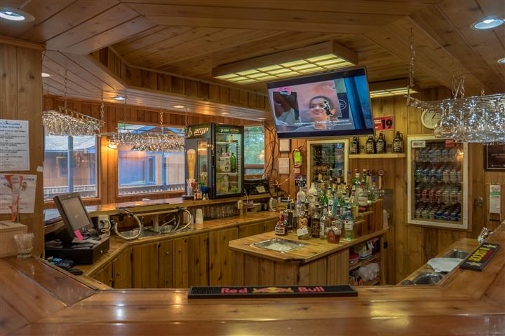 view of the inside bar at Wiley Point