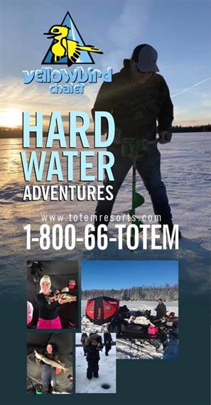 Winter Ice Fishing & Snowmobiling