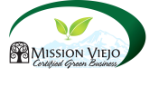 Mission Viejo Certified Green Business.