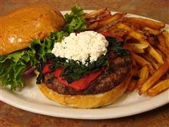 Juicy 1/2lb. CAB (Certified Angus Beef) Burgers & More!