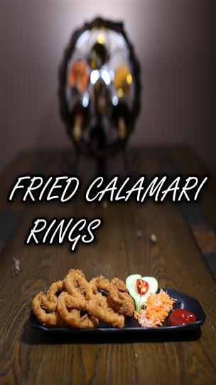 United Rose Deli & Pho Fried Calamari rings