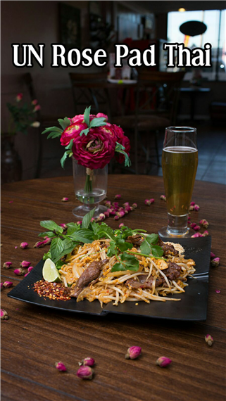 UN rose pad thai