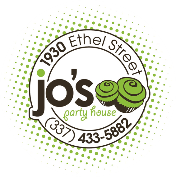jo's party house 1930 ethel street (337) 433-5882