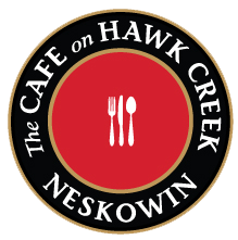 The Cafe on Hawk Creek Logo