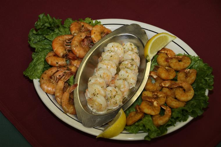 assortment of shrimp