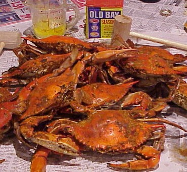 whole crabs