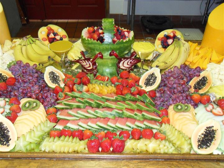 assorted fruit on a table