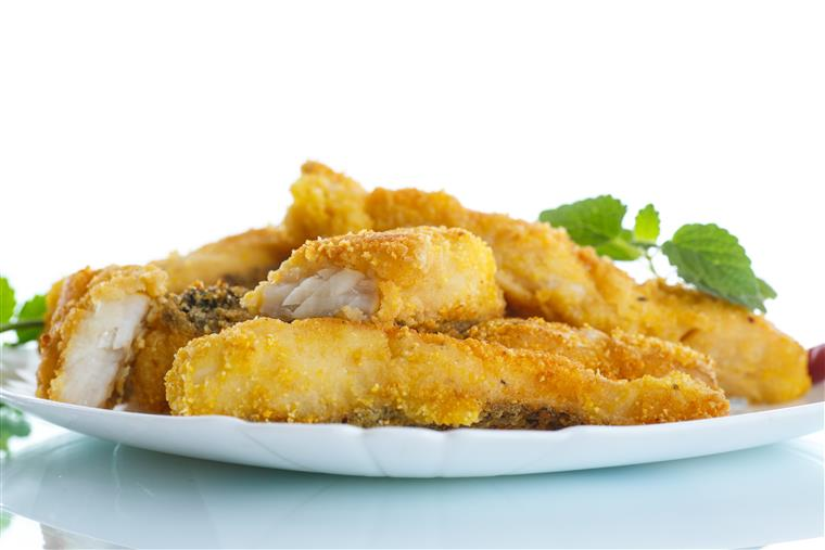breaded Catfish on a plate