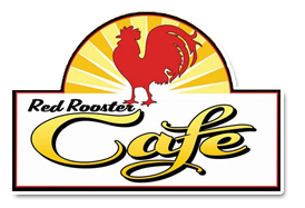 red rooster cafe logo