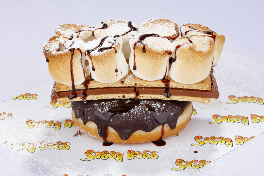S'mores donut