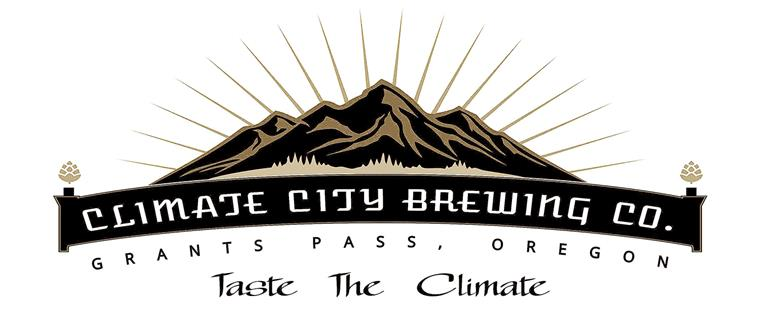 Climate City Brewing Co. Grants Pass, Oregon.  Tast The Climate