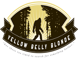 "Yellow Belly Blonde. ""For those too timid to search for something bolder"""