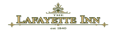 The Lafayette Inn. Established 1840.