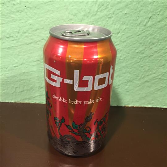 Can of G Bot Double India pale ale