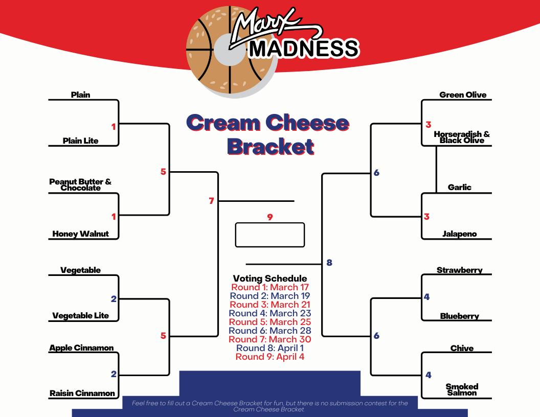 Cream Cheese Bracket