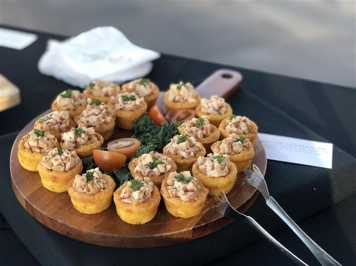 Sundried Tomato Chicken Cups