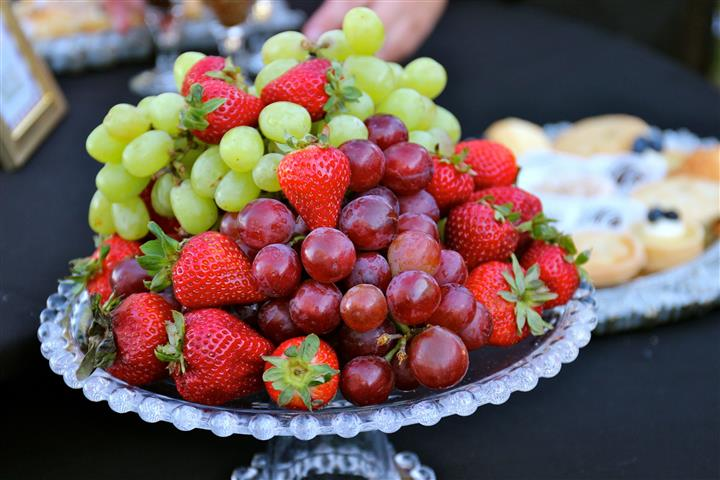 Fruit Plate on a table