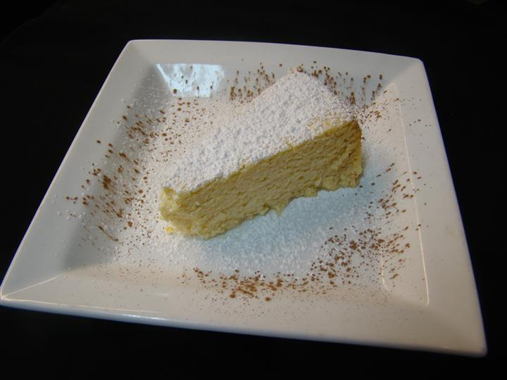 Slice of cheese cake