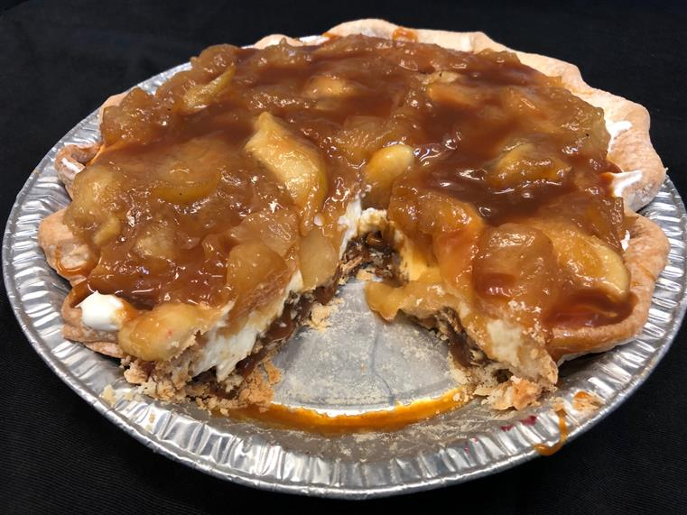 Pecan Caramel Apple Pie