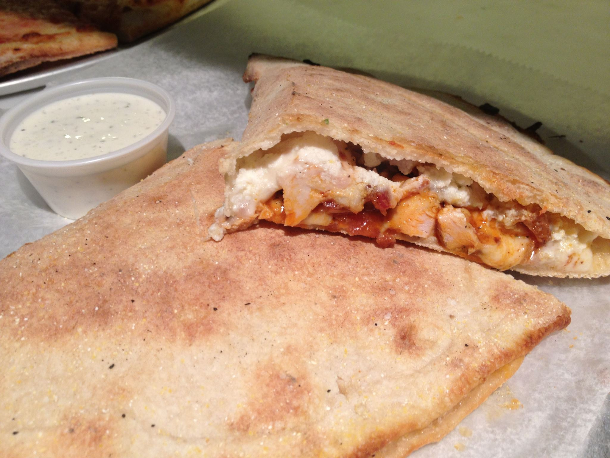 Wrap with meat and cheese