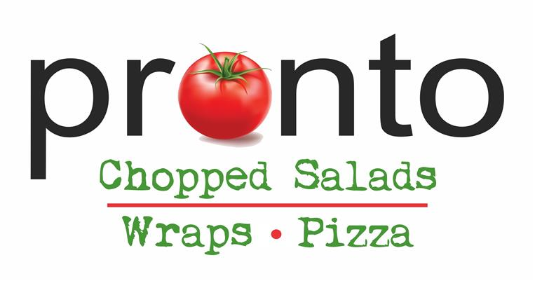 Pronto. Chopped salads, wraps, pizza.