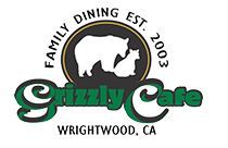 Family Dining Established 2003. Grizzly Cafe Wrightwood, CA