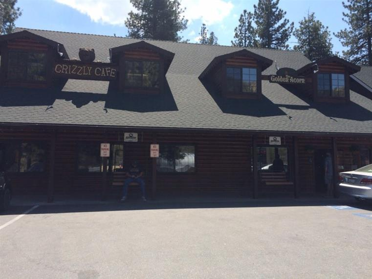 Exterior of Grizzly Cafe