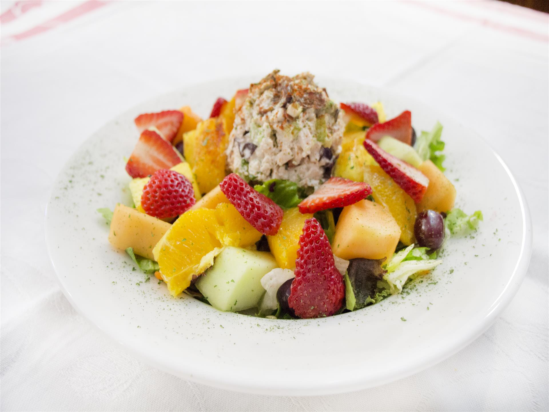 Napa Chicken Salad with Fruit
