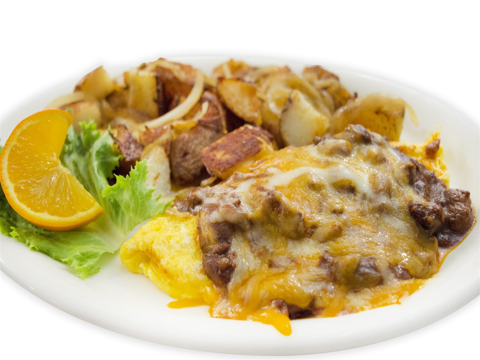 Chili Cheese Omelette