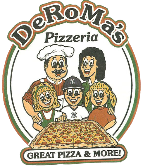 deroma's pizzeria great pizza and more!