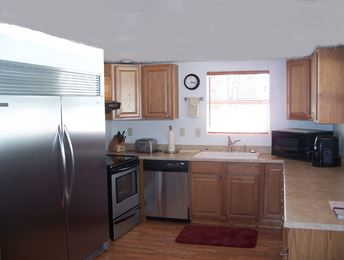 ---- Four Bedroom family cabin kitchen (large)