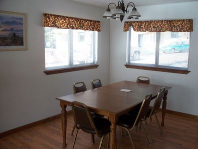 ---- Fire side dining room (large)