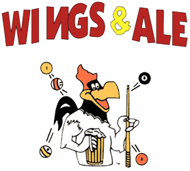 Wings & Ale logo