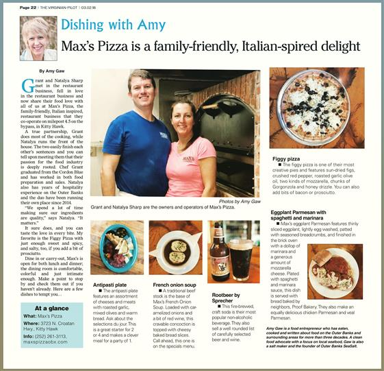 Dishing with Amy Article