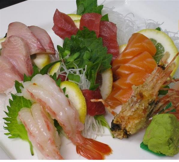 assorted sushi rolls on a plate