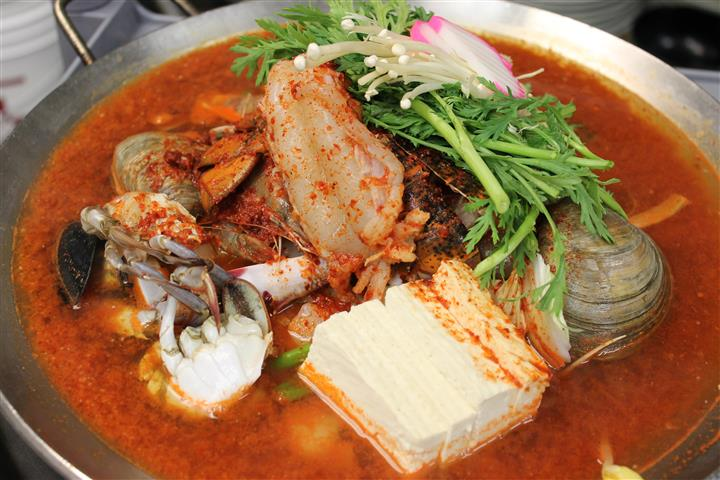 seafood soup entree