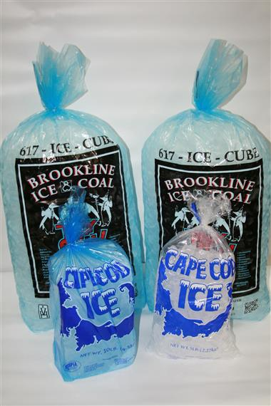 bags of ice